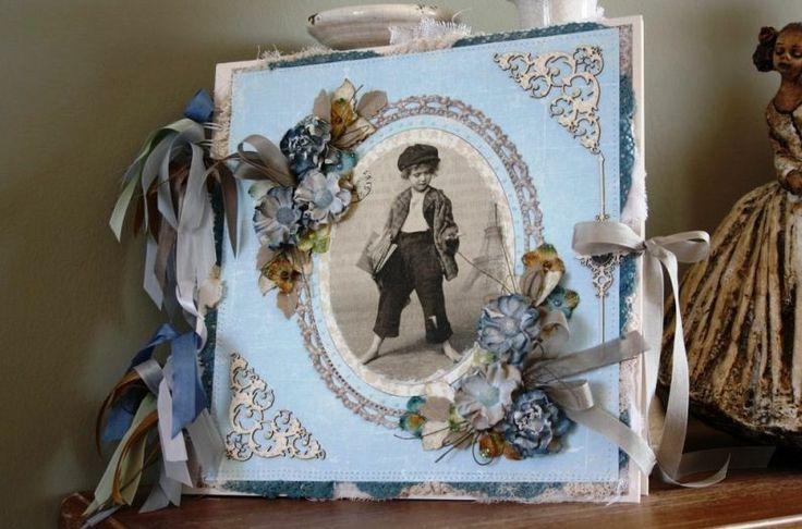 Scrapbooking album for a boy~ Άλμπουμ Scrapbooking για αγόρι