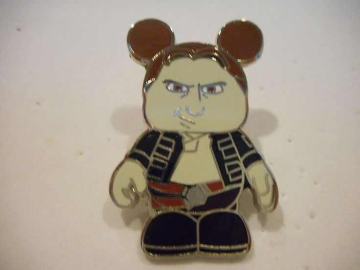 "DISNEY VINYLMATION 3/"" STAR WARS SERIES 2 HAN SOLO COLLECTIBLE VINYL TOY FIGURE"