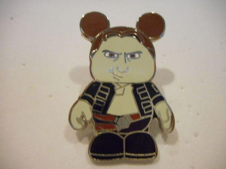 Disney Pin *Tsum Tsum* Star Wars Characters Mystery Series 2 Han Solo Hoth!