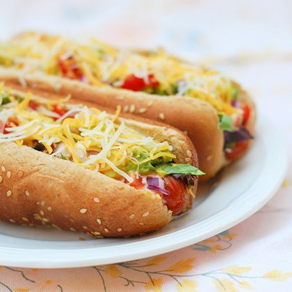 Hot Dogs with a Latin Touch