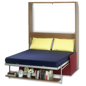 Make the Most of Your Small Space with a Folding Bed!  #MurphyBeds