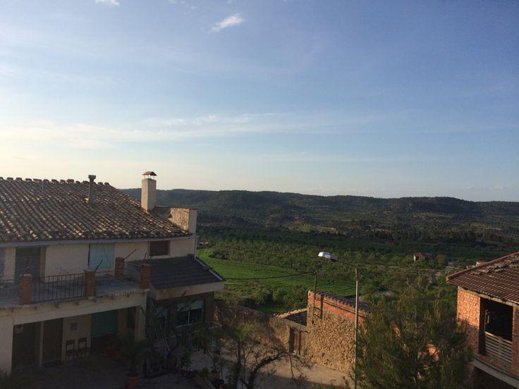 La Fresneda(Teruel).  Un gran descubrimiento. La zona espectacular para hacer senderismo.