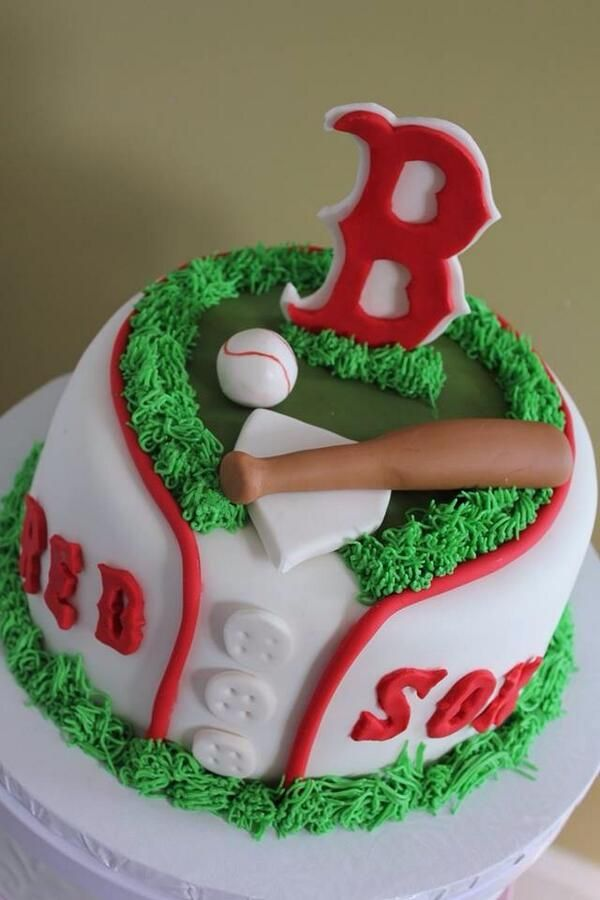 Red Sox Cake Images : 17 Best ideas about Red Sox Cake on Pinterest Boston red ...