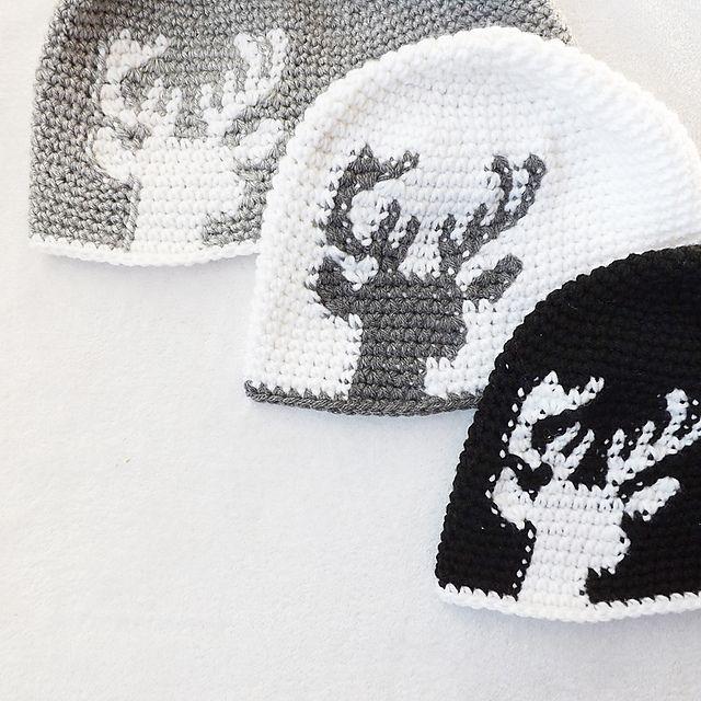 37 best Gorros images on Pinterest | Crochet hats, Crocheted hats ...