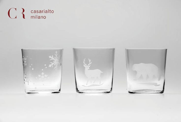 Engraved glasses. www.casarialto.it