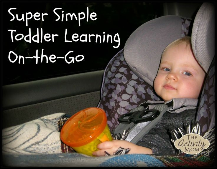 Super Simple Toddler Travel Activities - Keep your toddler busy, having fun, and learning while you are on the go.