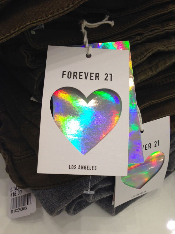 Forever 21 Holographic Swing