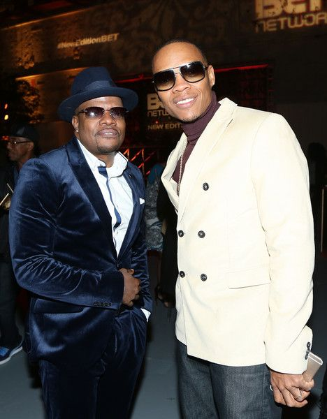 "Ronnie DeVoe Photos Photos - Ricky Bell and Ronnie DeVoe attend the after party for BET's ""The New Edition Story"" on January 23, 2017 in Los Angeles, California. - BET's 'The New Edition Story' Premiere Screening - After Party"