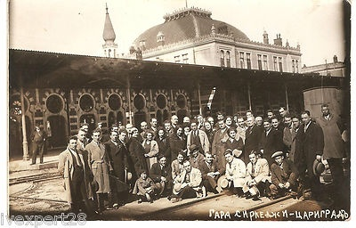 Turkey 1910s Constantinople Railway Station Sirkedji Sirkeci Original Photo PC | eBay