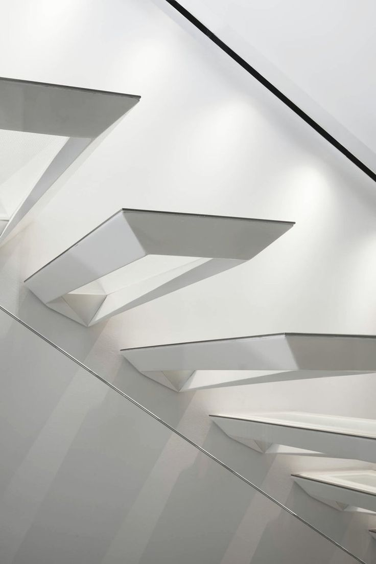 55 Best Space Staircase Images On Pinterest Stairs Architecture Light Installation By Pslab Yatzer Modern Stair Design Idea These Were Inspired The Japanese Art Form Of Paper Folding