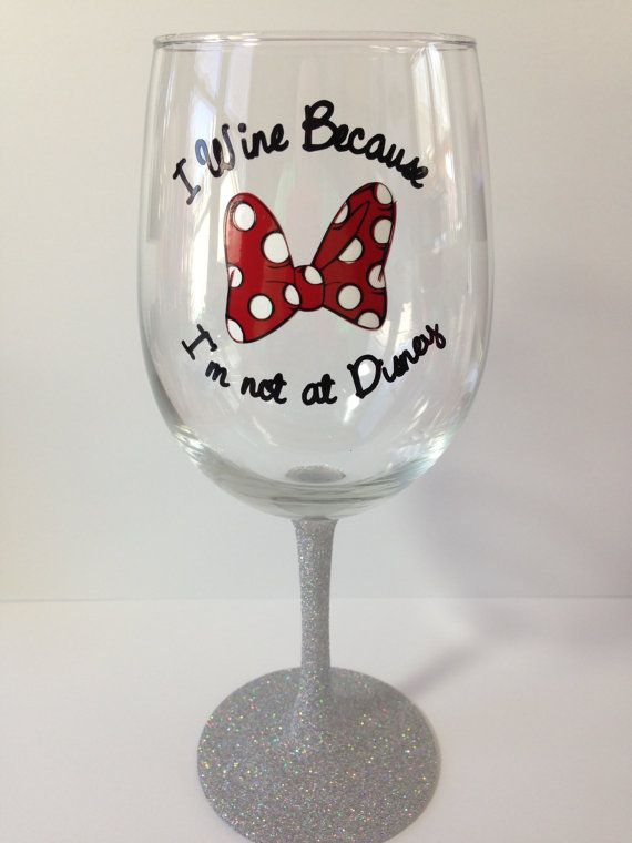 25 Best Ideas About Disney Wine Glasses On Pinterest