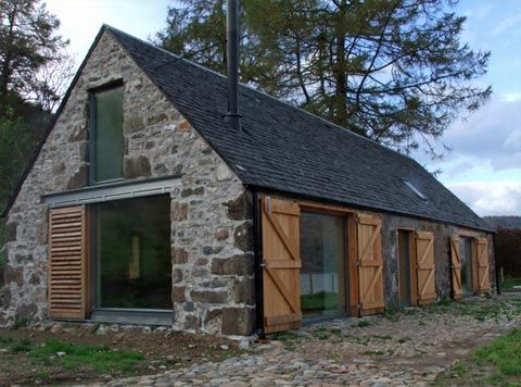renovated barn houses | Barn Houses | Barn House: My Heart's In The Highlands | Busyboo