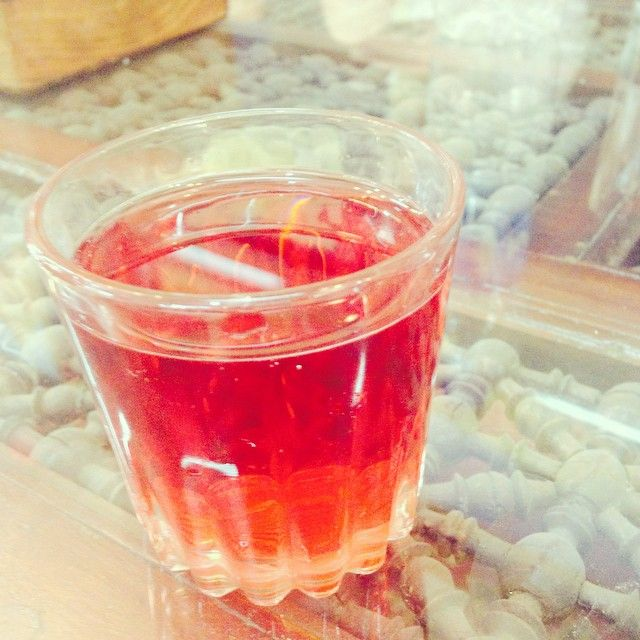 The ever amazing Egyptian Hibiscus Tea