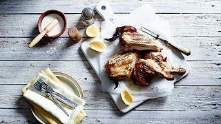 Alabama white sauce chicken   Chicken recipes   SBS Food