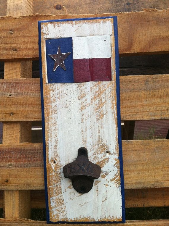 State of Texas Bottle Opener on Etsy, $26.00