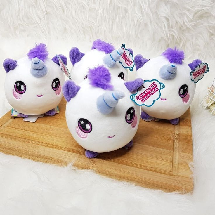 ready squishamals unicorn harga  245000 list booth fa