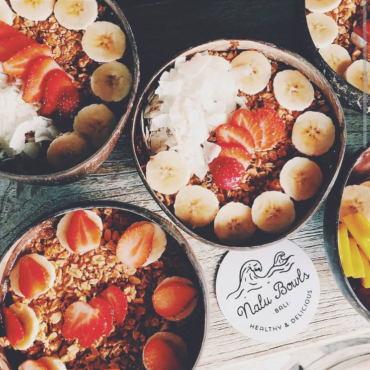 Nalu Bowls, available in 2 locations, Uluwatu or Seminyak. Bali.