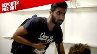 Der 23-jährige Feras ist vor dem Krieg in seinem Heimatland Syrien geflüchtet. BILD hat den jungen Mann begleitet.