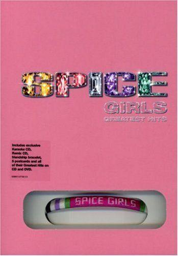 Spice Girls - Greatest Hits (3CD + DVD + Postcards + Friendship Bracelet) SEALED #TeenPop
