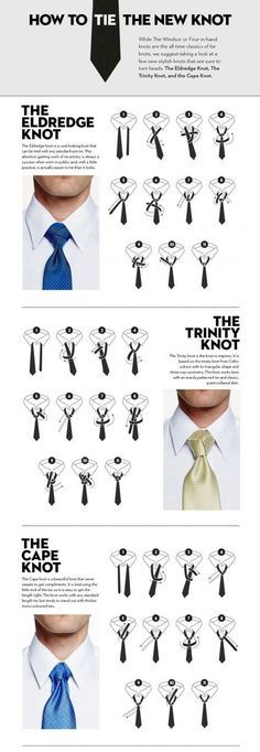 #MensFashion: How to #tie the new #knot.