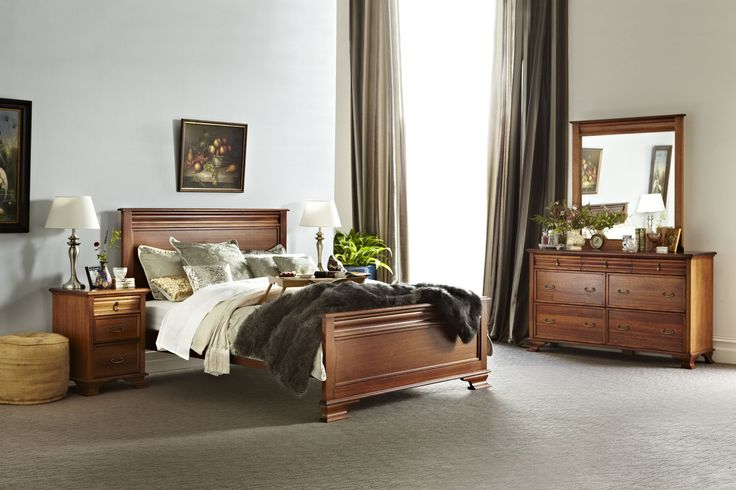 Balmoral Bedroom Collection manufactured by Flamingo Furniture, All Australian Made!
