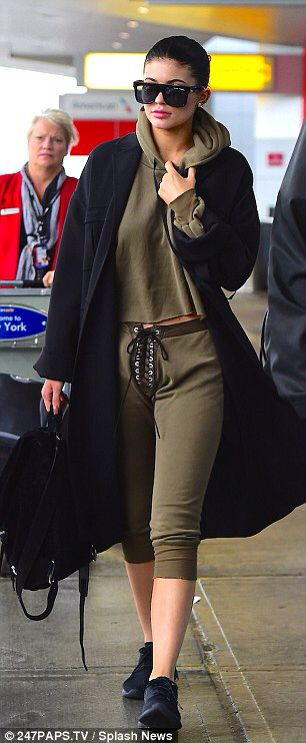 Kylie Jenner jets out of LA with boyfriend Tyga