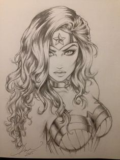 Wonder Woman •Dawn McTeigue