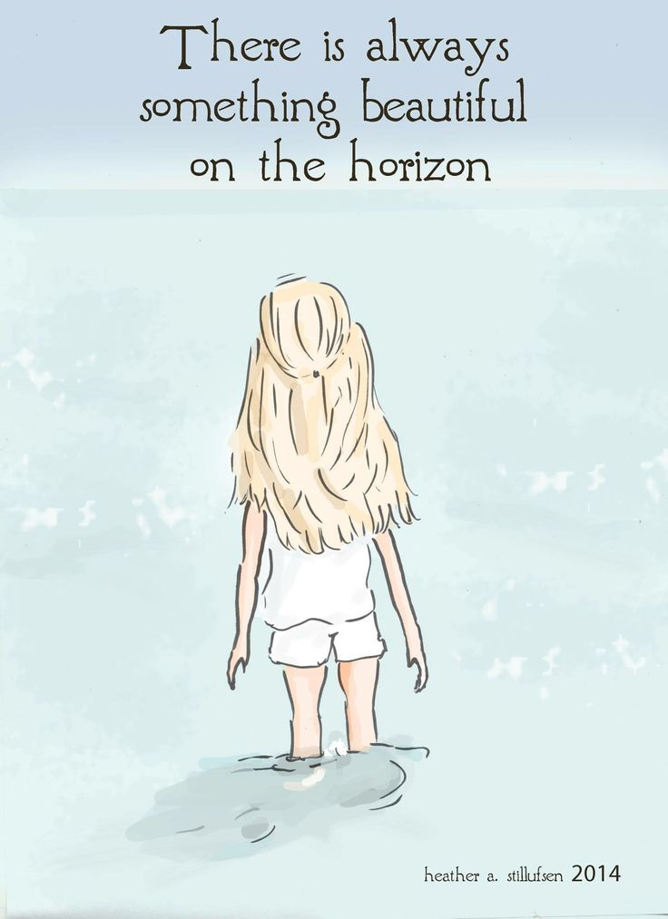 Something beautiful on the horizon.