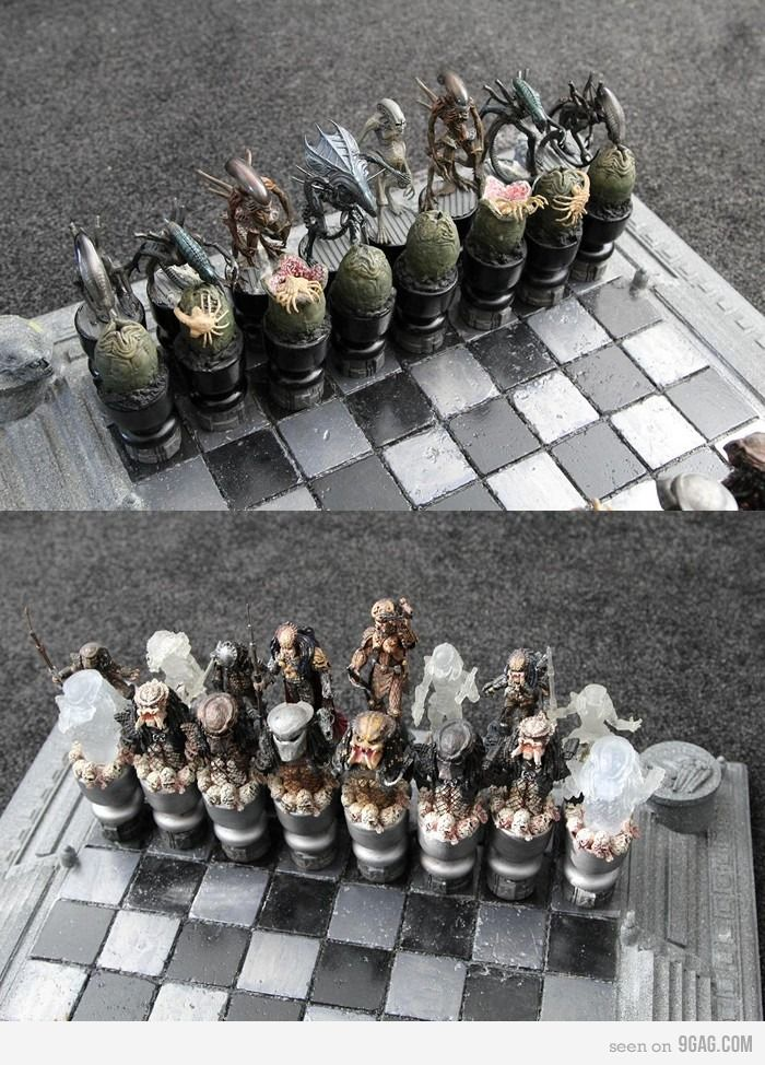 Alien v. Predator Chess Set, I need to buy this for my hubby.