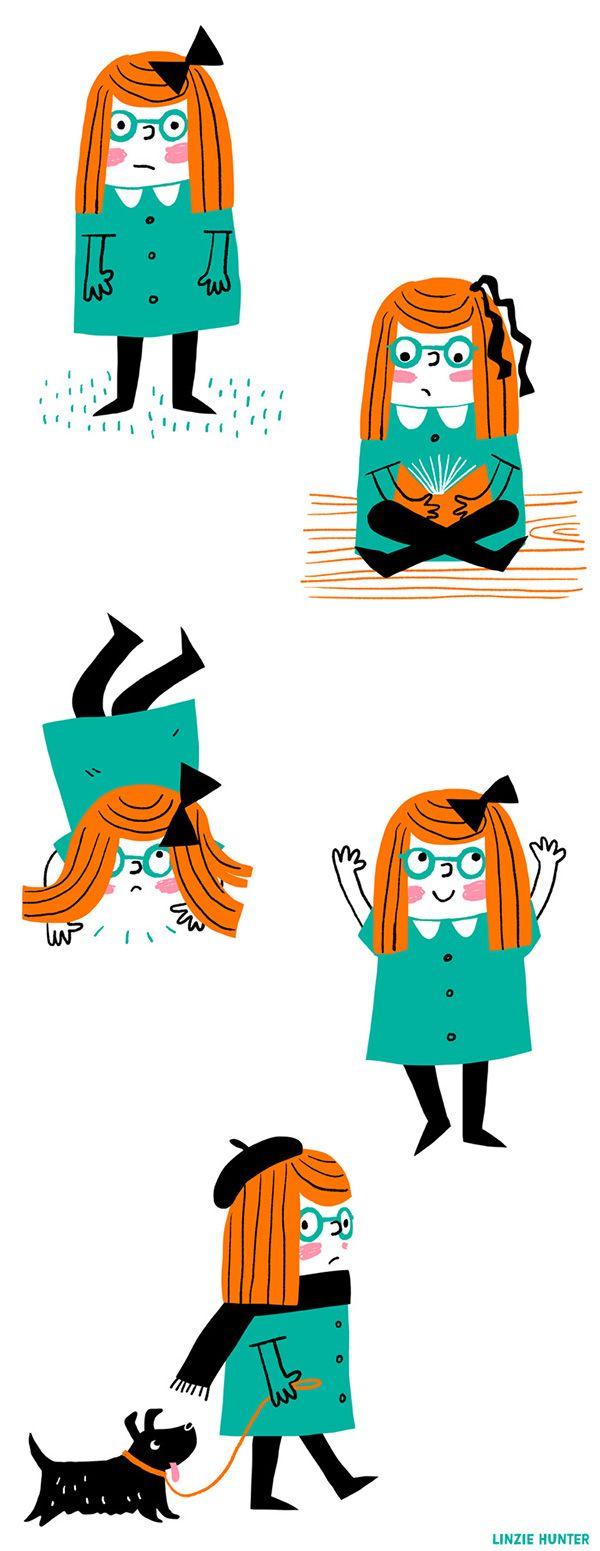 Character Studies: Girl on Behance