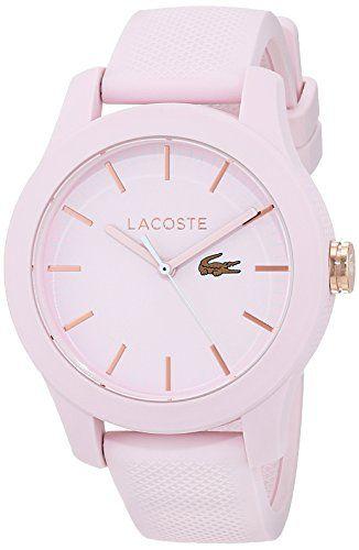 Reloj para mujer Lacoste - cuarzo - correa de silicona - perfecto para una  dama sofisticada b27da79be6d7