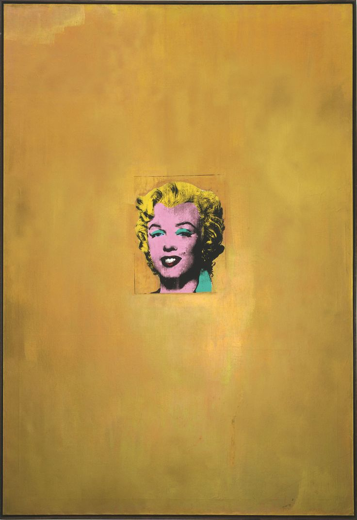 17 best images about art 1950 contemporary donald warhol gold marilyn 1962 celebrity culture iconicity radical simplification print