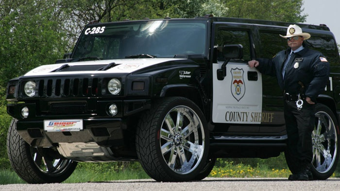 Hummer cop policia | Coches guapos | Pinterest