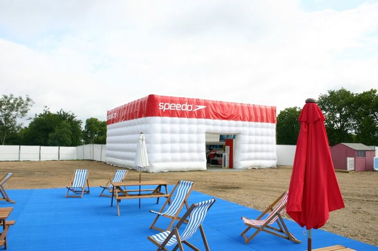 Need a cool #shopping environment at an #event?  #Inflatable #Temporary #Structure #Events http://www.brandinteractivation.com/