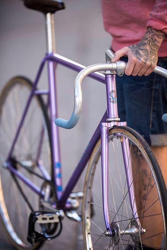 #BikeLove #Purple