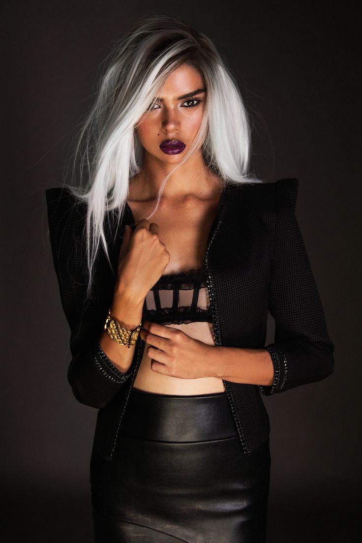 Samantha Harris by Thom Kerr for BLK on BLK Online | UniLi - Unique Lifestyle