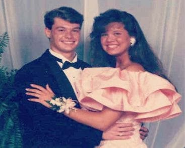 Celebrity Prom Photos You Won't Believe Are Real Ryan Seacreat and yes a girl at his prom.