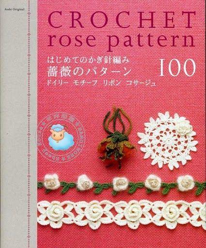Crochet rose pattern - Cristina Vic - Álbuns da web do Picasa...FREE BOOK AND DIAGRAMS!