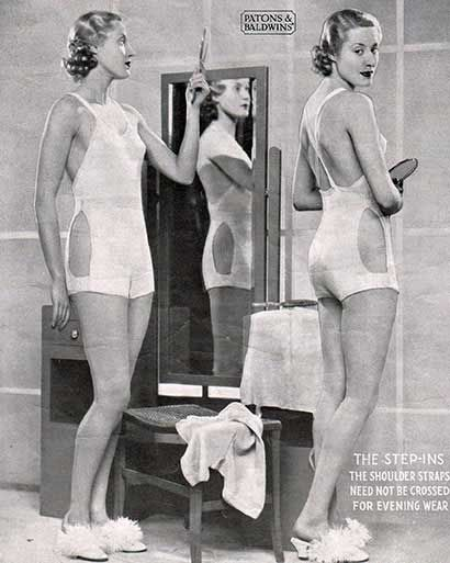 FREE Vintage Underwear Pattern / Tutorial