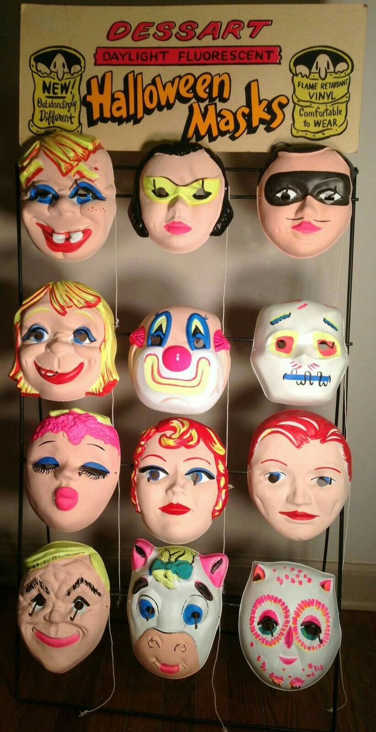 619 best Halloween Vint. Costumes and Masks images on Pinterest