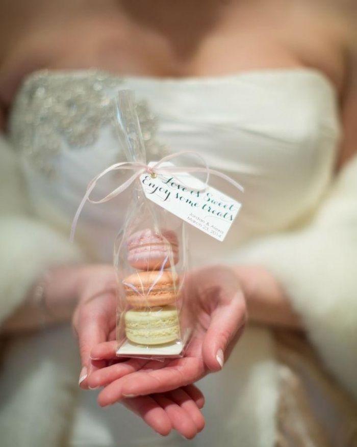Gastgeschenke zur Hochzeit franzoesische-maccarons-pastellfarben                                                                                                                                                                                 Mehr