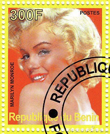 marilyn monroe stamps -