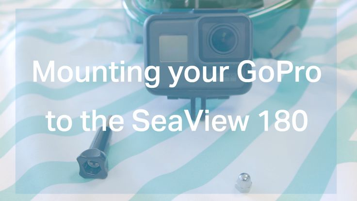 Here is a quick demonstration of how to properly attach your GoPro camera to your Seaview 180° full face snorkel mask.