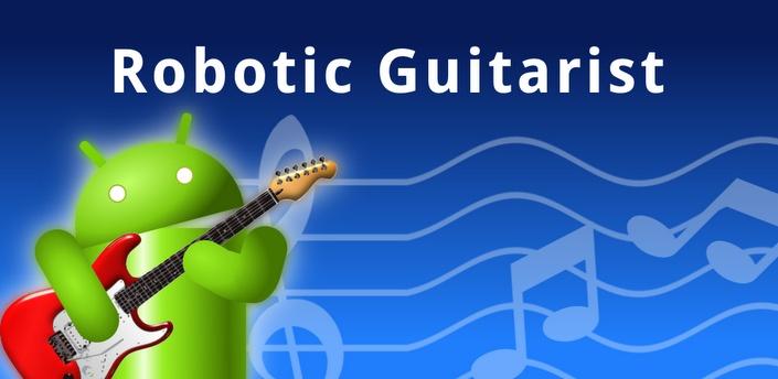 Guitarra virtual y sintetizador ♦ Guía de acordes ♦ Afinador ♦ Metrónomo  Robotic Guitarist es una guitarra virtual para tu dispositivo. Esta aplicación te será útil tanto si ya tocas la guitarra como si estás aprendiendo, e incluso si no sabes tocar pero quieres pasar un rato divertido o experimentar con sus sonidos.
