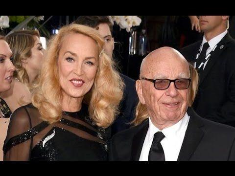 Rupert Murdoch and Jerry Hall announce engagement...