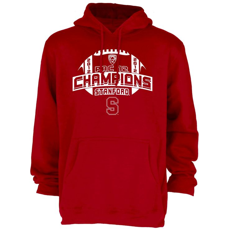 Stanford Cardinal 2012 Pac-12 Conference Football Champions Survey Hooded Sweatshirt - $32.29