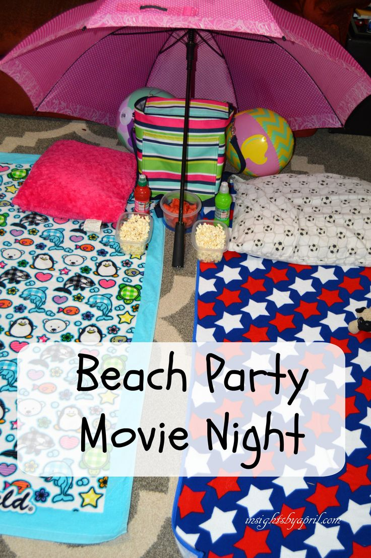 Beach Party Movie Night