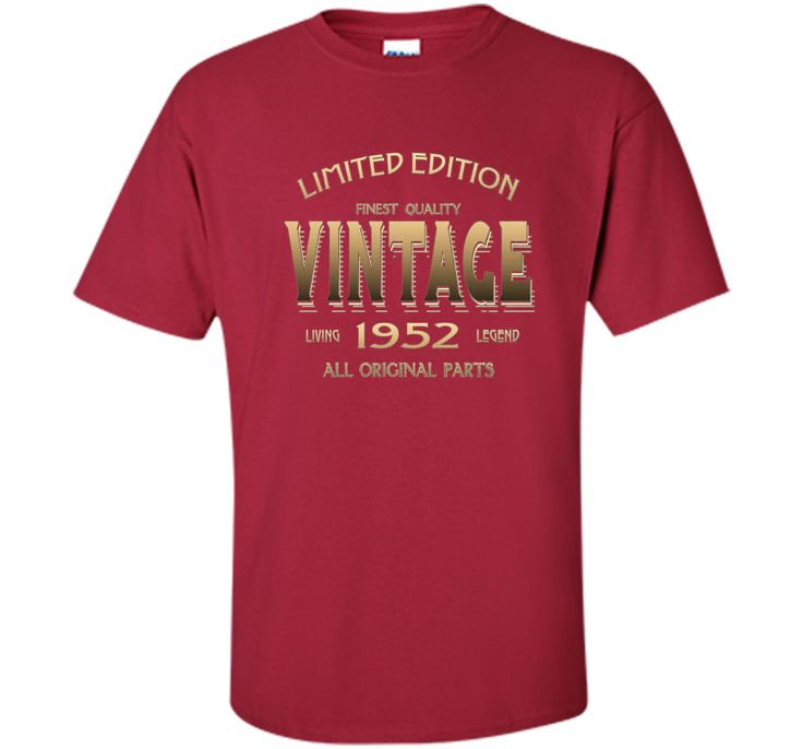 100% Cotton - Imported - Machine wash cold with like colors, dry low heat - Cool Vintage Tee Shirt for Men and Women ( 65 Yr-s ). Great Gift for Him and for Her ( Male , Female ). Good Present , Best