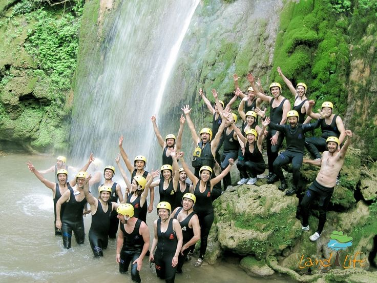 Get together with your friends and live an exciting rafting experience at Lousios river in Peloponnese of Greece