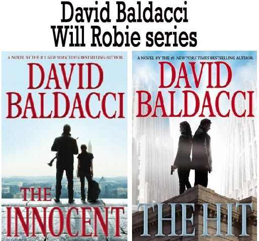 David Baldacci books Will Robie series  http://www.mysterysequels.com/david-baldacci-books-in-order